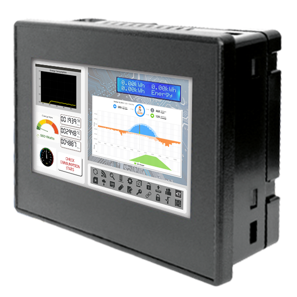 All-in-one Controllers <br> PLC + HMI combined