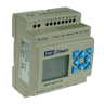 SMT-ED-T12-V3 iSmart Intelligent Relay -V3 24VDC, HMI, 6 DI, 2AI  4 Trans out (500mA) Ladder, FBD, 15 Tmr, 15 Cntr
