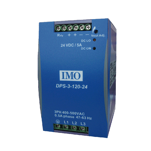 Three Phase Input <br> Din Rail Mounted